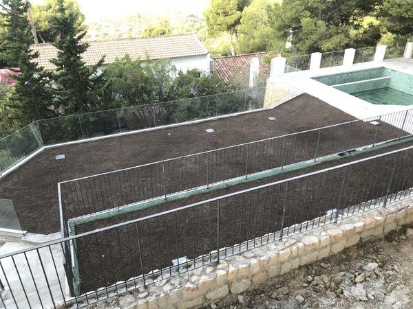 Diseño Cubierta Verde Pinares San Anton 24