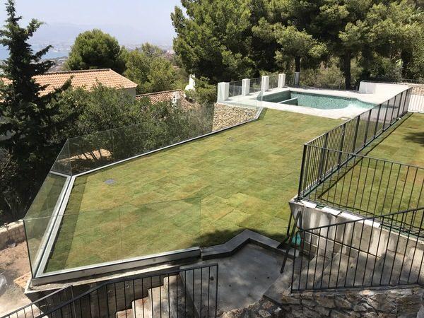Diseño Cubierta Verde Pinares San Anton 34
